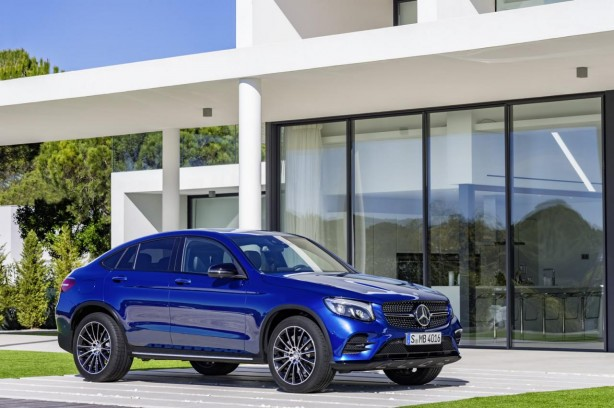 forcegt 2016 mercedes-benz glc coupe front quarter