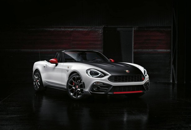 forcegt abarth 124 spider front quarter