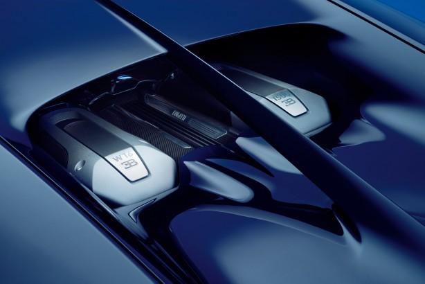 forcegt bugatti chiron W16 engine