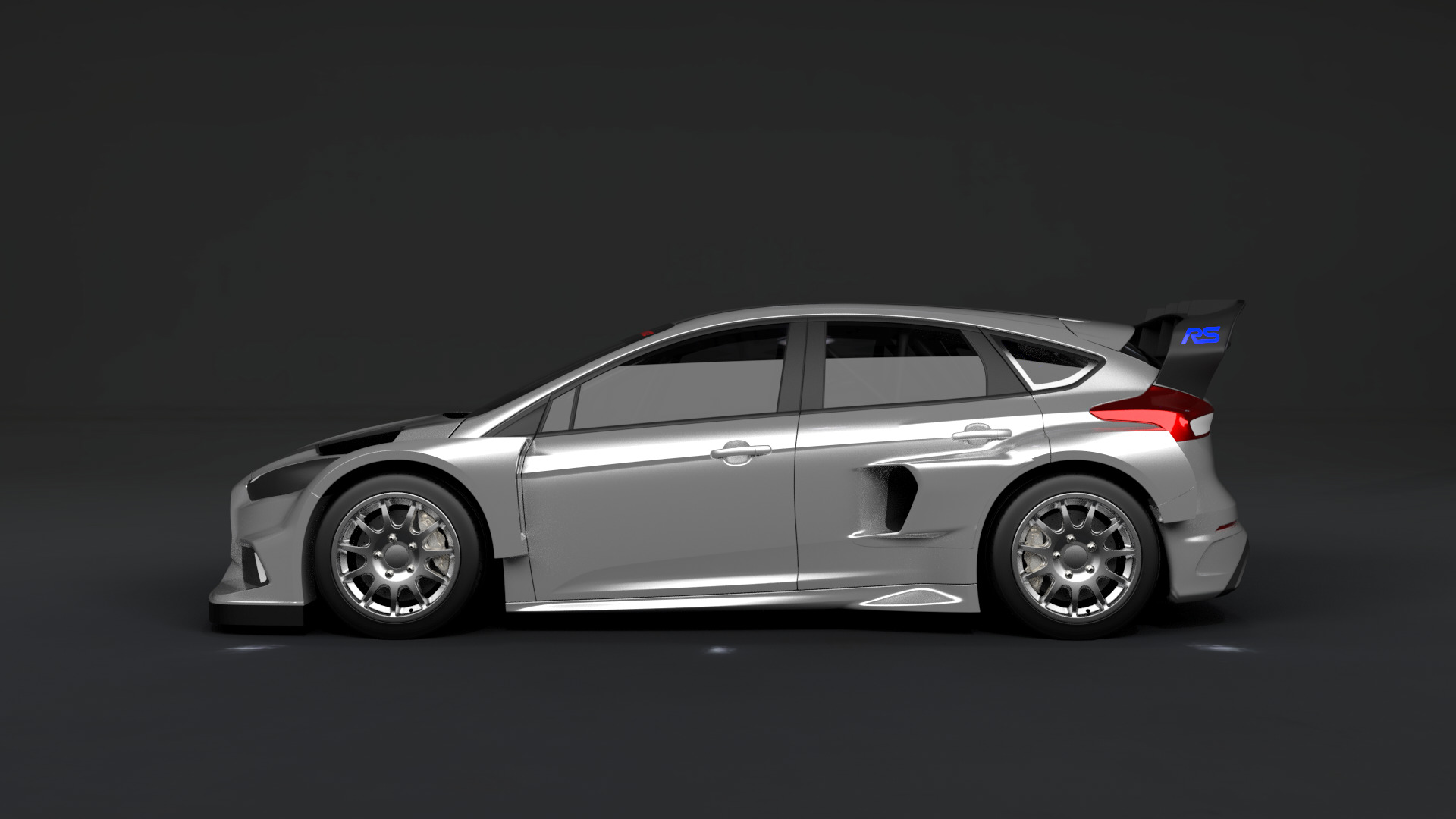 Ford Focus Rs Rx Widebody Side