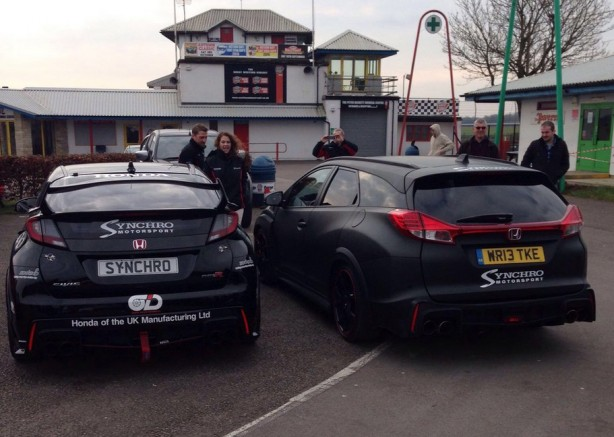 honda civic type r and type r tourer