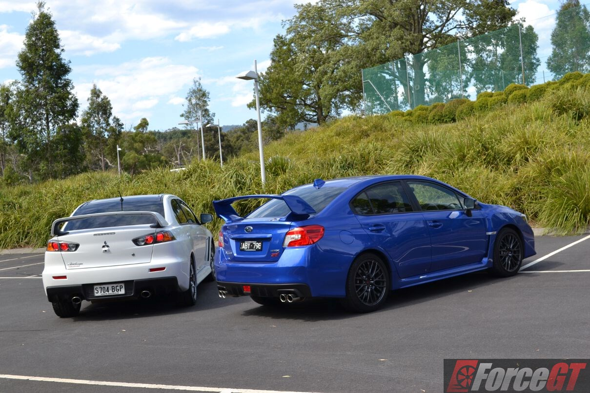 Brz Vs Wrx >> Head to Head: Subaru WRX STI vs Mitsubishi Lancer Evo X ...