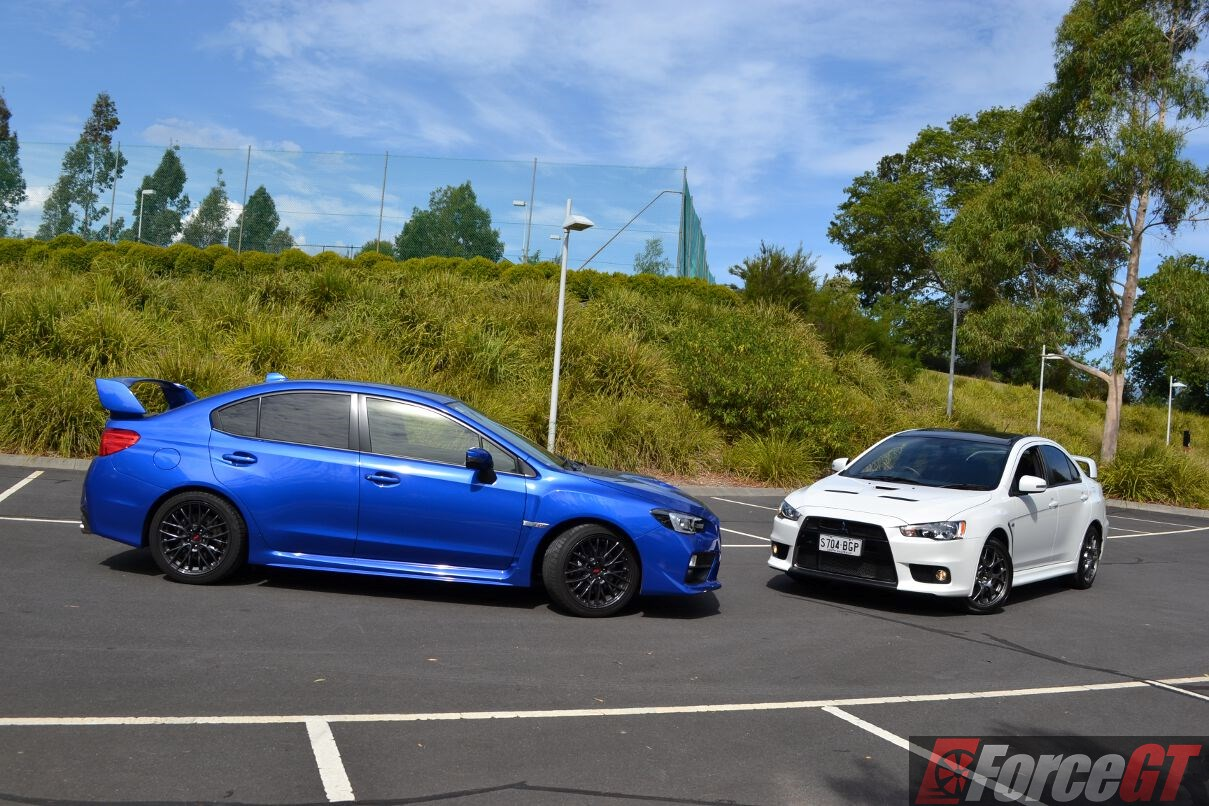 Tucson 2017 Vs Tucson 2018 >> Head to Head: Subaru WRX STI vs Mitsubishi Lancer Evo X Final Edition