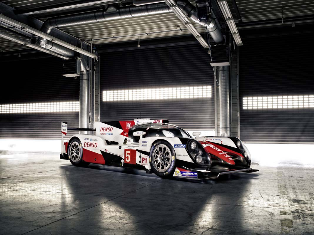 toyota cars  news toyota reveals new ts050 hybrid lmp1 car