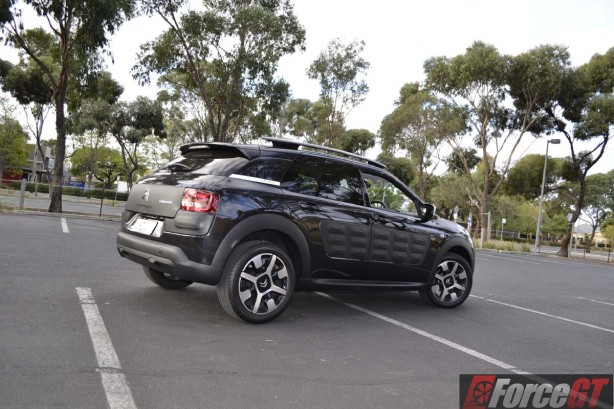 2016 Citroen C4 Cactus rear quarter