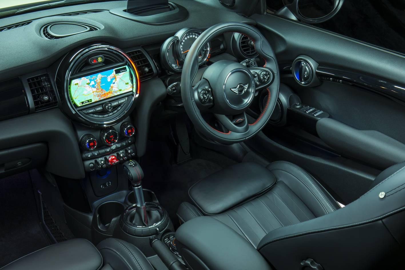 2016 Mini Cooper S Convertible Interior