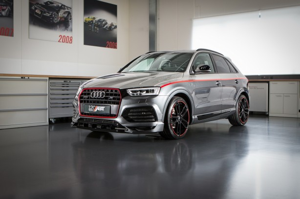 abt audi q3 120 years front quarter
