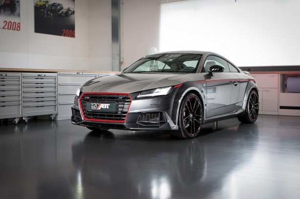 abt audi tts 120 years front quarter