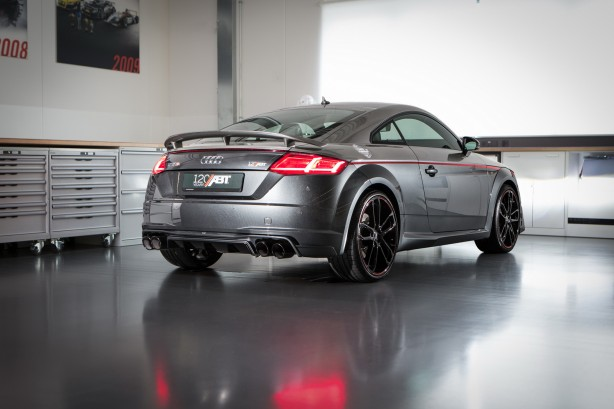 abt audi tts 120 years rear quarter