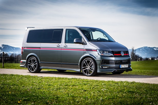 abt volkswagen t6 120 years front quarter