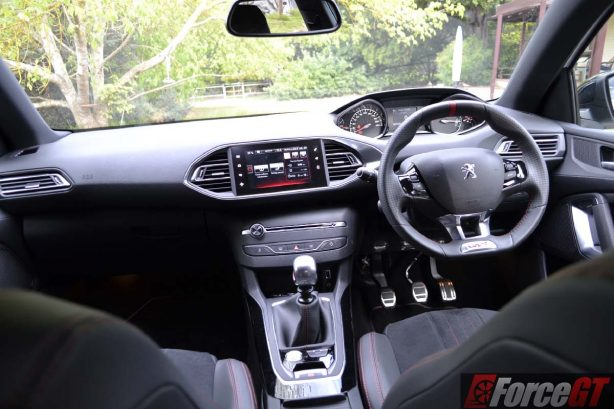 forcegt 2016 peugeot 308 gti 250 dashboard