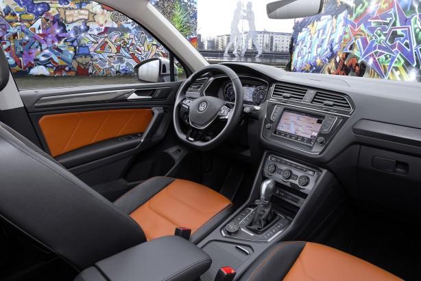 forcegt 2016 volkswagen tiguan interior