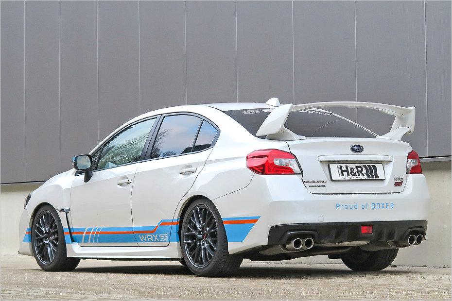 Brz Vs Wrx >> H&R sharpens Subaru WRX STI with new coilover suspension kit