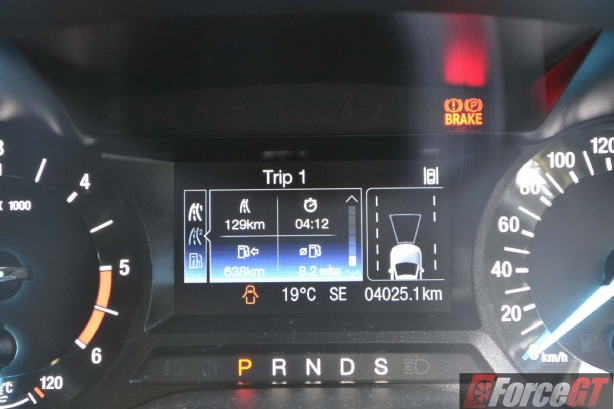 2016 ford mondeo trend wagon trip computer