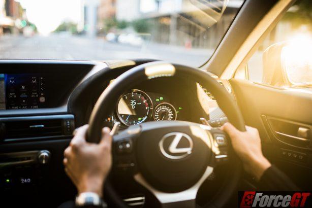 2016 lexus gs f Dash driving