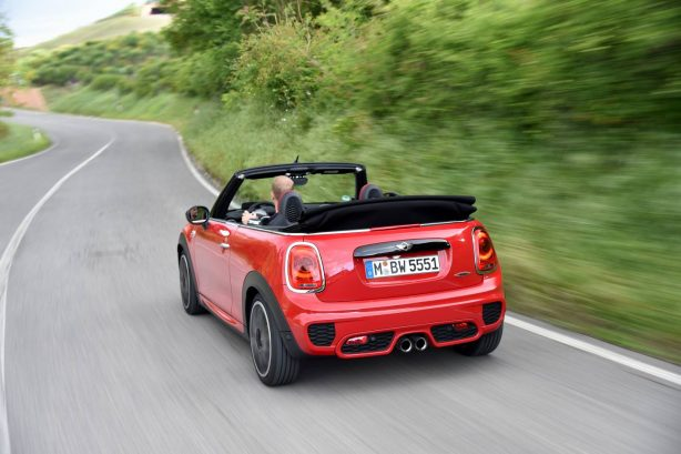 2016-mini-john-cooper-works-convertible-roof-down