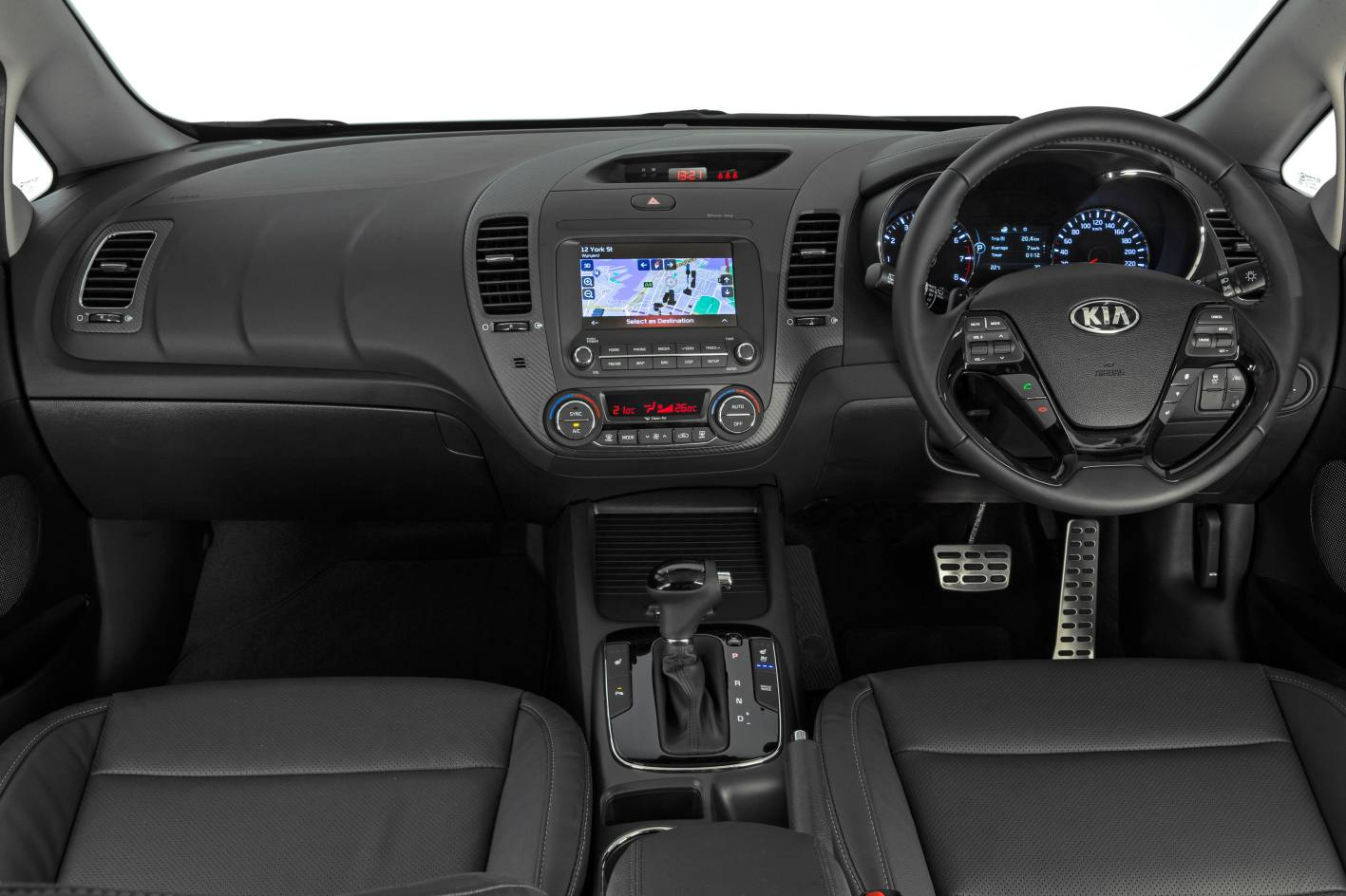 Kia News 2017 Kia Cerato Updated With More Tech And Safety
