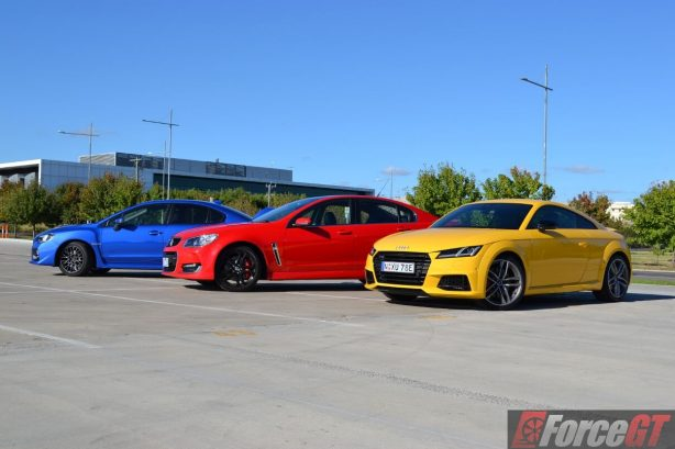 holden-commodore-ssv-subaru-wrx-sti-audi-tts-comparison-1