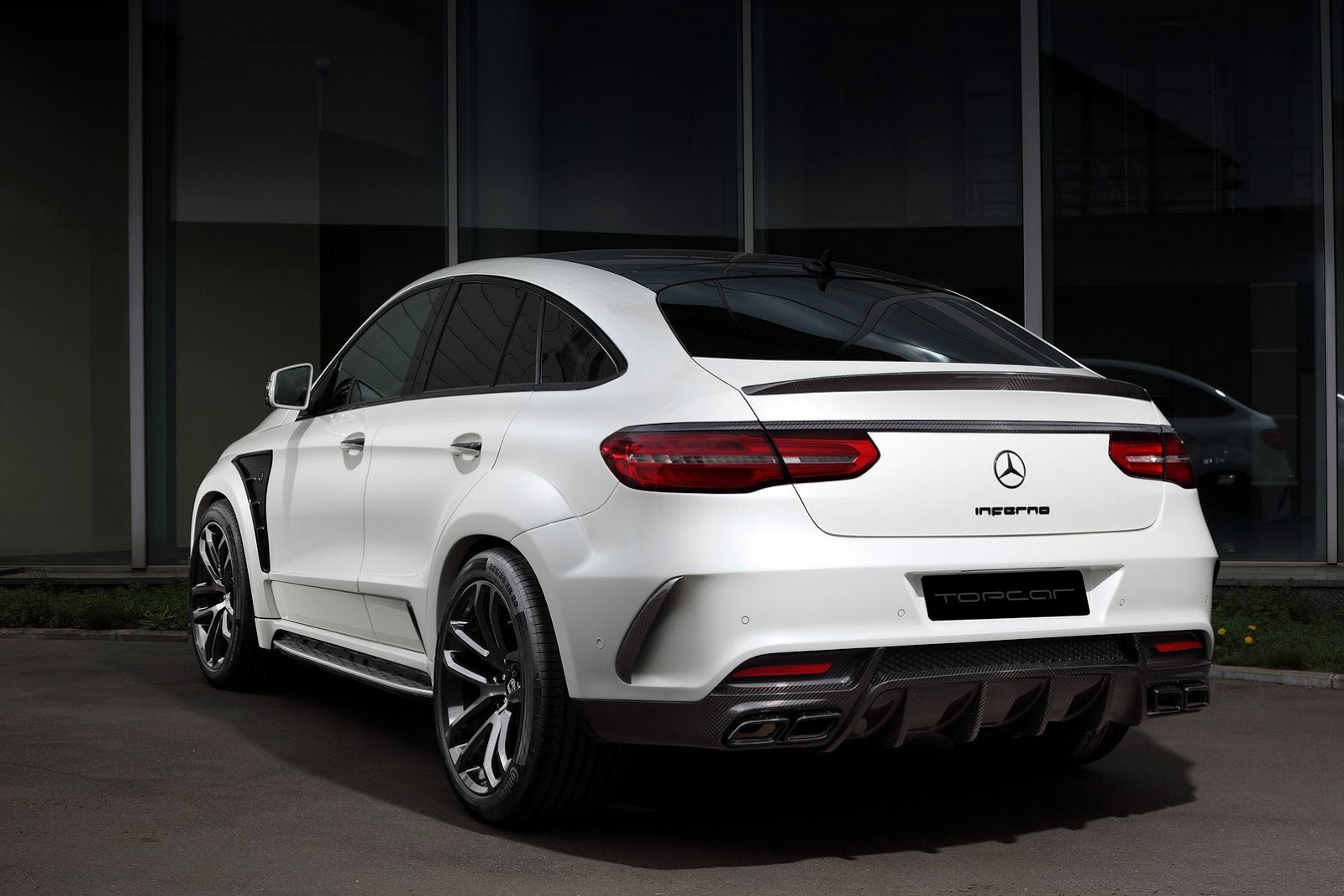 topcar unveils inferno tuning kit for mercedes gle and gle 63 coupe. Black Bedroom Furniture Sets. Home Design Ideas