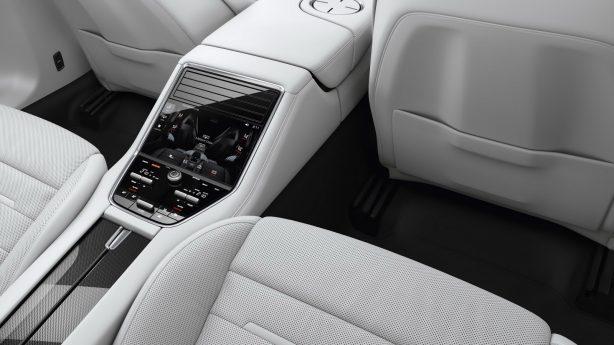 2017 porsche panamera rear seat controls