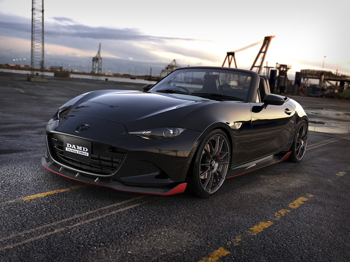 DAMD spices up Mazda MX-5 - ForceGT.com