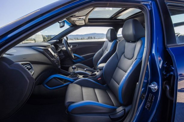 hyundai veloster street turbo front seats