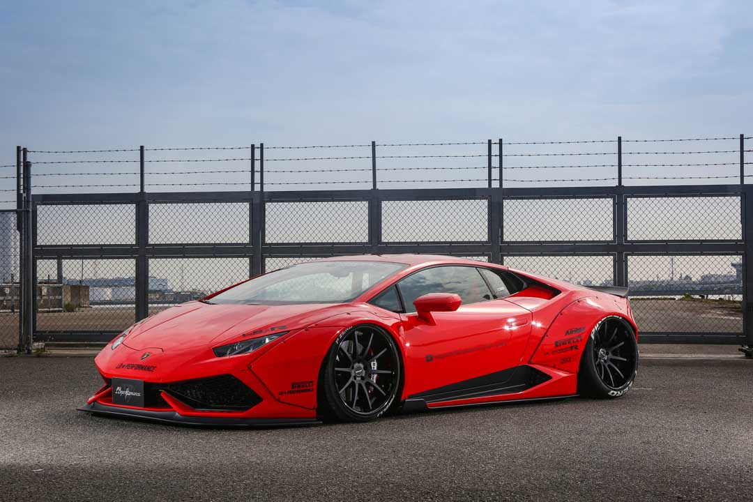 Liberty Walk Lamborghini Huracan Comes Wider Than Ever