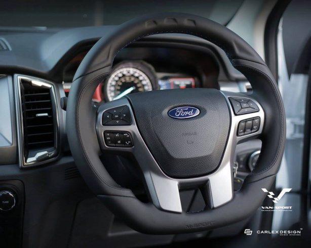 m-sport tuned ford ranger steering wheel