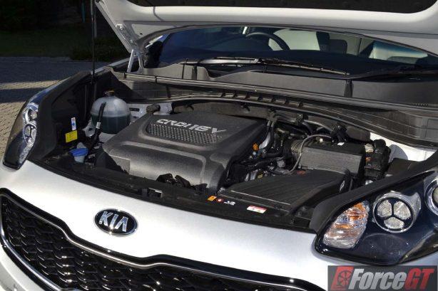 2016 Kia Sportage platinum engine