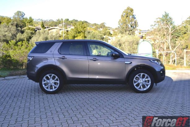 2016 Land Rover Discovery Sport side