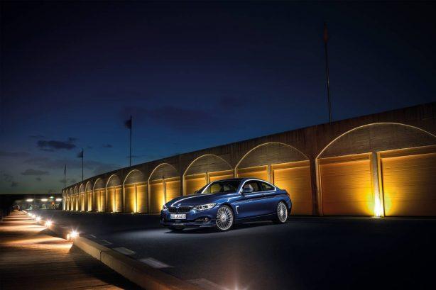 2016 bmw alpina b4 bi-turbo coupe front quarter