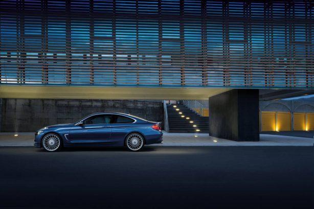 2016 bmw alpina b4 bi-turbo coupe side