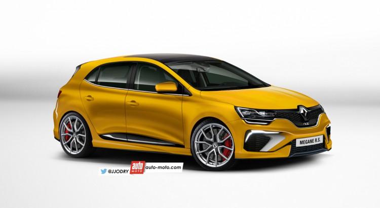 2017 Renault Megane R S To Get Awd Four Wheel Steering