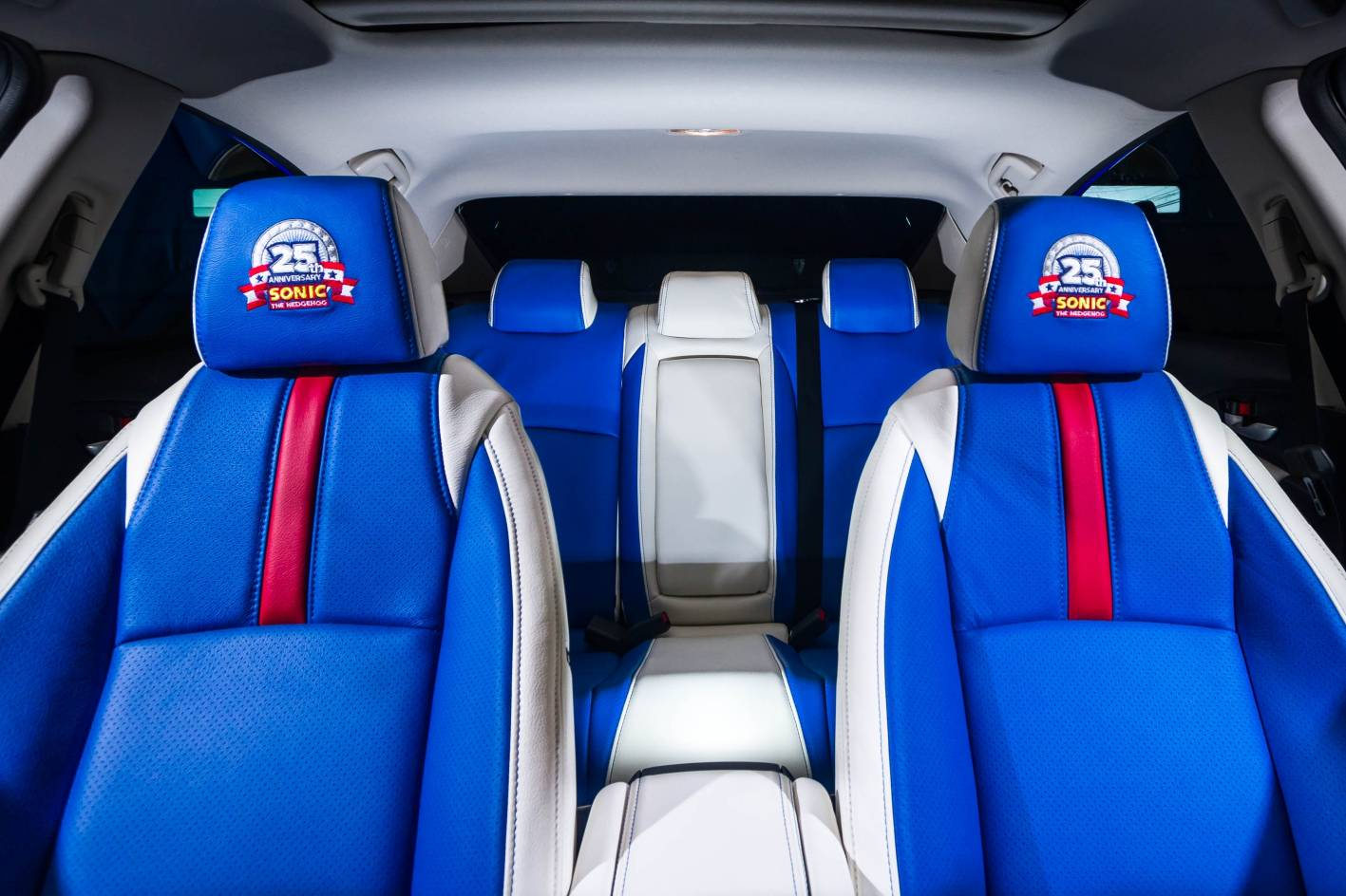 Honda And Sega Create Sonic Themed Civic Forcegt Com