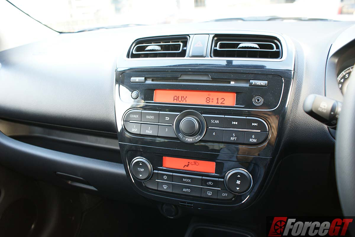Mitsubishi Mirage 2016 Review La Facelift Affordable Hatch Cvt Petrol Automatic Radio