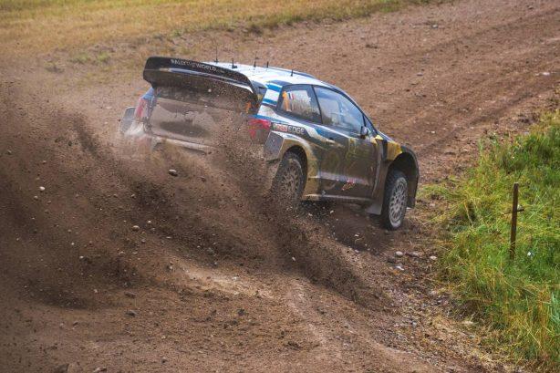 rally poland volkswagen polo r wrc rear