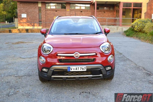 2016 fiat 500x cross plus front