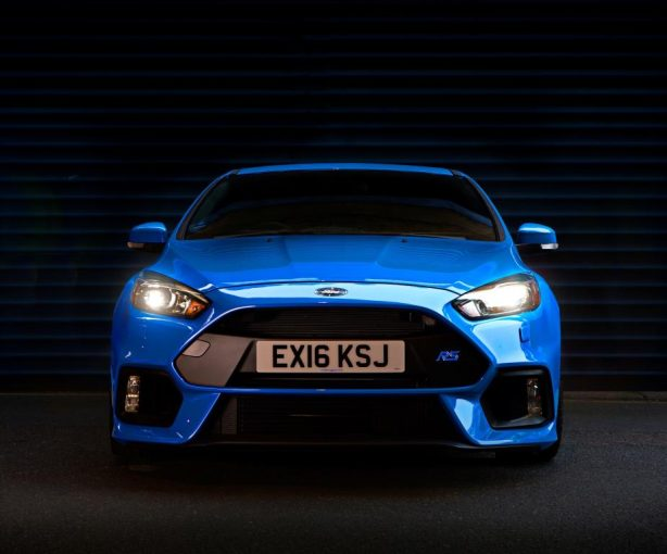2016 ford focus rs mountune upgrade front