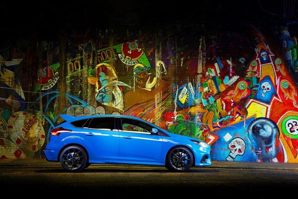 2016 ford focus rs mountune upgrade side