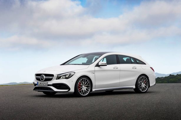 2016 mercedes-benz cla shooting brake side