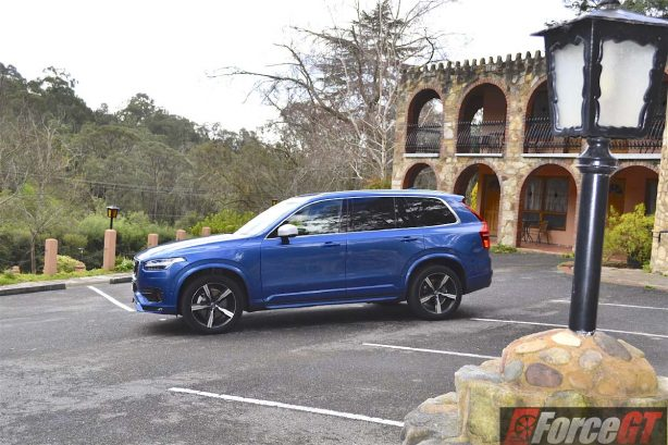 2016 volvo xc90 t6 r-design polestar side