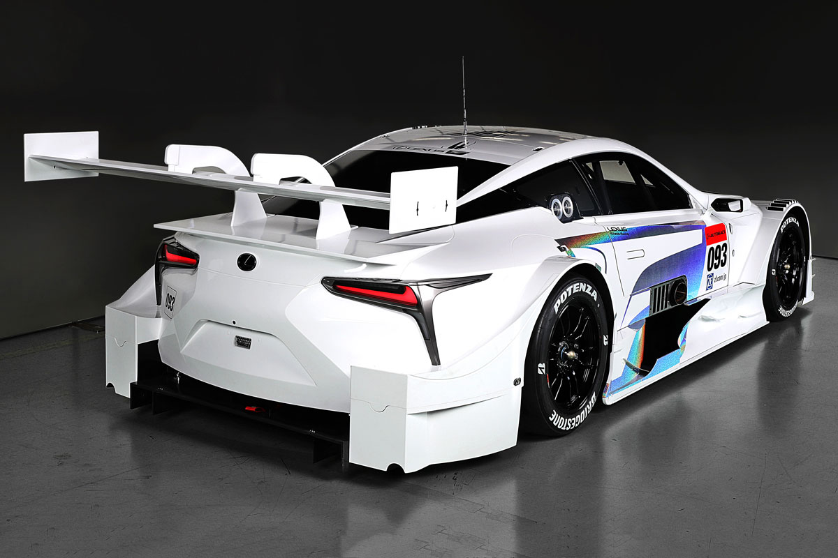 Lexus LC GT500 to race in 2017 Super GT Season - ForceGT.com