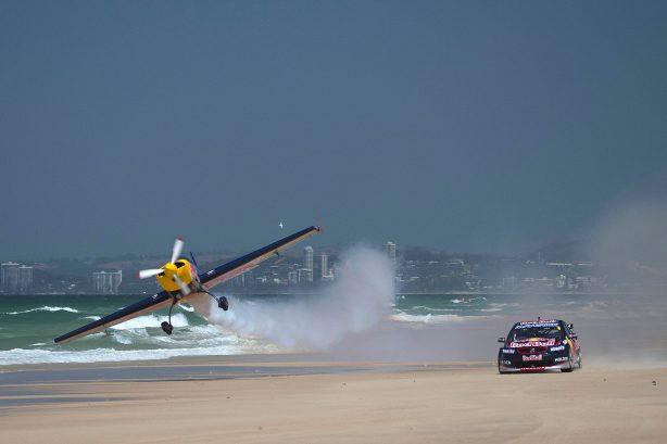 Red Bull Racing Australia v8 supercars vs plane