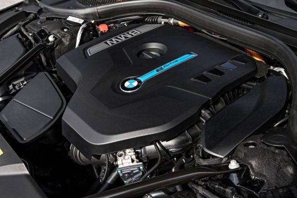 bmw 740e hybrid engine