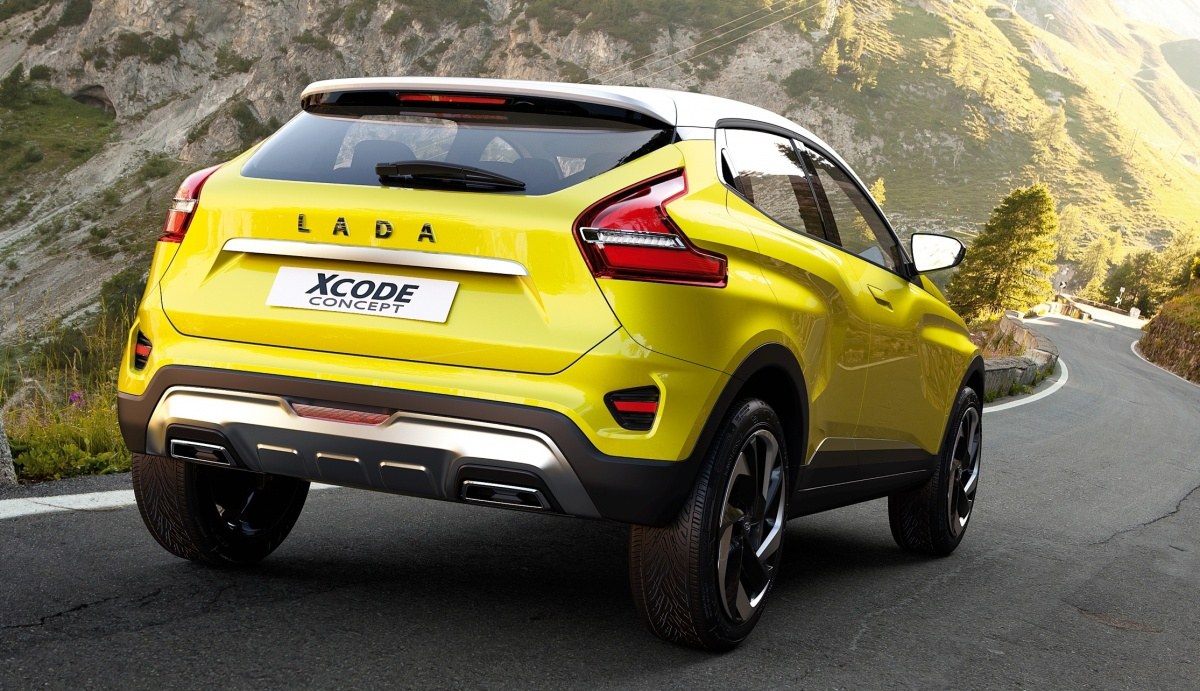 Lada's stylish XCODE Concept unveiled at Moscow Motor Show ...