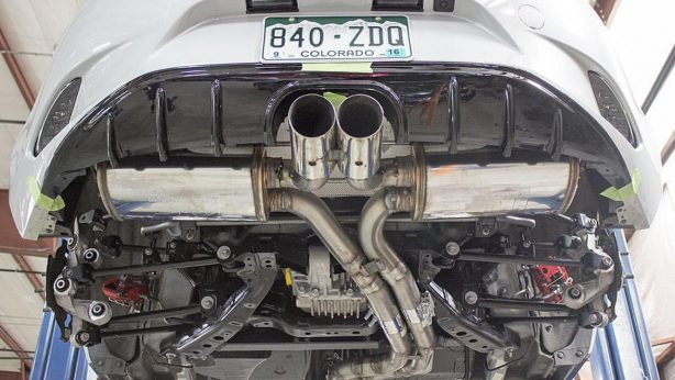 v8 powered mazda mx-5 exhaust