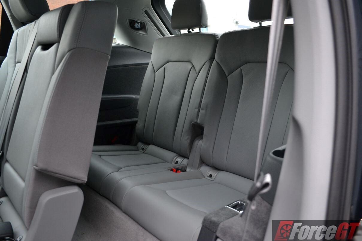 Audiqtdirdrowlegroom ForceGTcom - Audi 3rd row