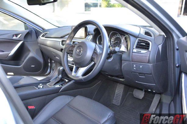 2016 mazda6 touring sedan interior