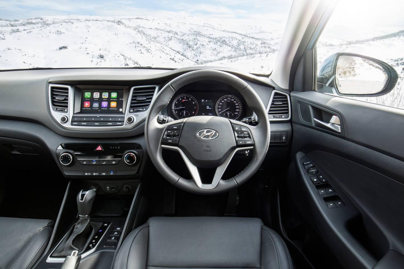 Hyundai introduces 30 special edition tucson and santa - 2017 hyundai tucson sport interior ...