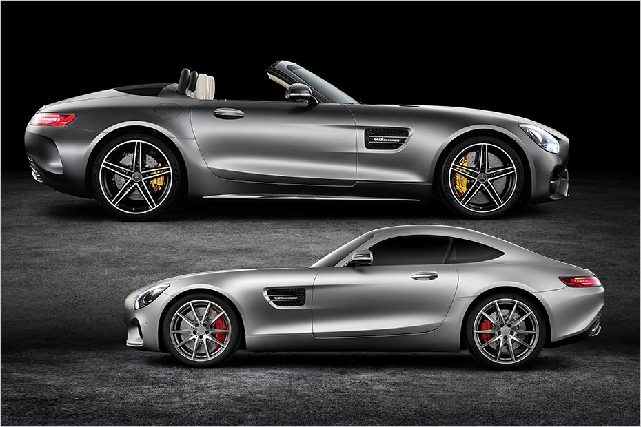 2017 Mercedes Amg Gt Roadster Vs Coupe